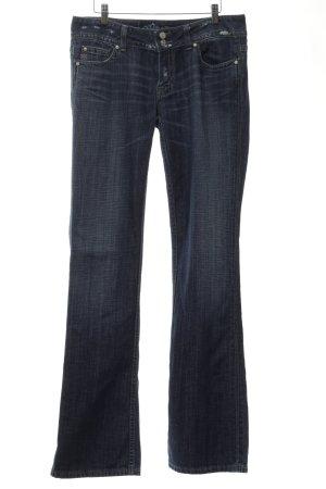 Miss Me Jeans a zampa d'elefante blu stile jeans