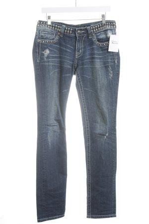 Miss Me Skinny Jeans blau Casual-Look