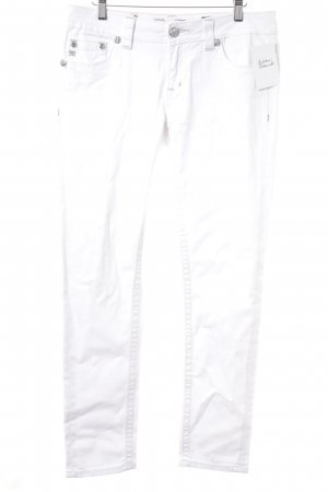 Miss Me Skinny Jeans weiß Casual-Look