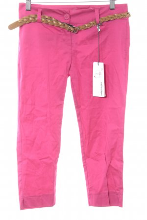Miss Miss by Valentina Caprihose magenta Casual-Look