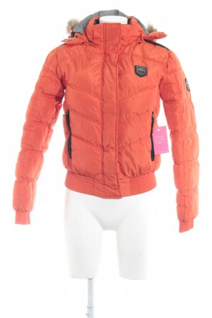 Miss Nickelson Winterjacke neonorange Casual-Look
