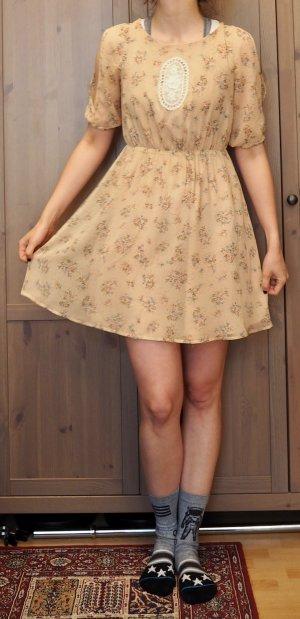 A-lijn jurk veelkleurig