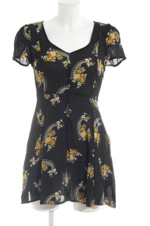 Miss Selfridge A-Linien Kleid Blumenmuster Beach-Look