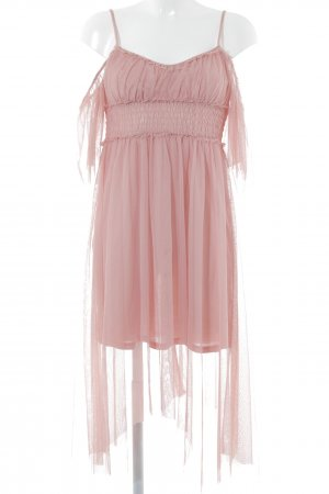 Miss Selfridge Abendkleid altrosa Romantik-Look