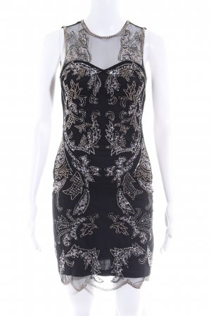 Miss Selfridge Abendkleid schwarz-blasslila Elegant