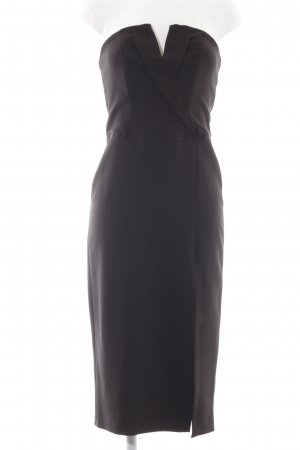 Miss Selfridge Bandeaukleid schwarz Elegant