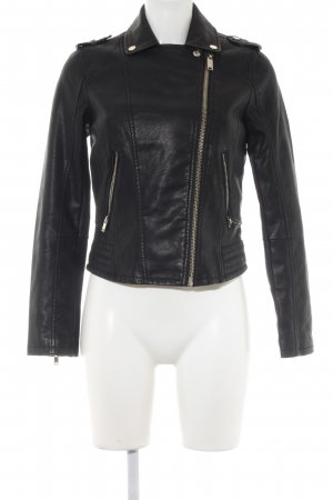 Miss Selfridge Bikerjacke schwarz Biker-Look