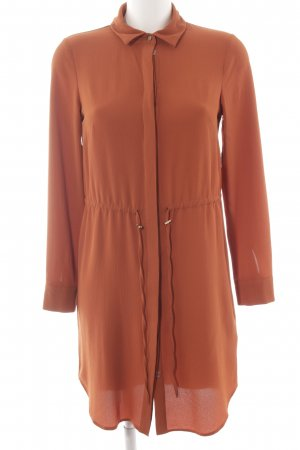 Miss Selfridge Blusenkleid dunkelorange Casual-Look