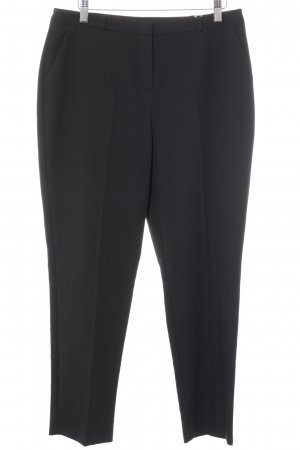 Miss Selfridge Bundfaltenhose schwarz Business-Look
