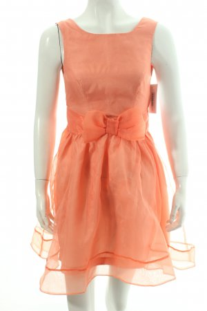 Miss Selfridge Cocktailkleid apricot 60ies-Stil