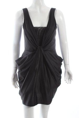 Miss Selfridge Cocktailkleid schwarz extravaganter Stil