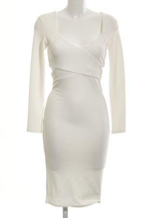 Miss Selfridge Cut-Out-Kleid hellbeige Elegant