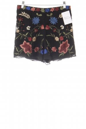 Miss Selfridge High-Waist-Shorts florales Muster Casual-Look