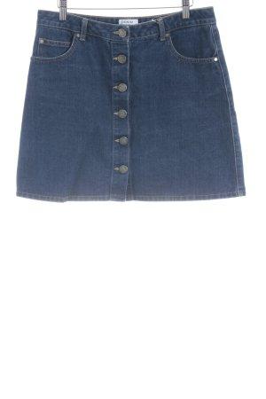 Miss Selfridge Jeansrock dunkelblau Jeans-Optik