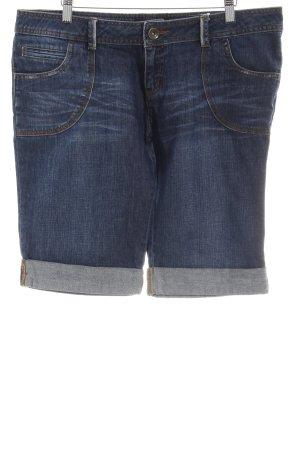 Miss Selfridge Jeansshorts dunkelblau Washed-Optik