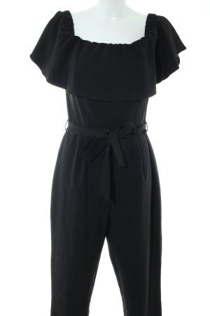 Miss Selfridge Jumpsuit schwarz Elegant