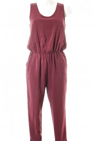 Miss Selfridge Jumpsuit brombeerrot