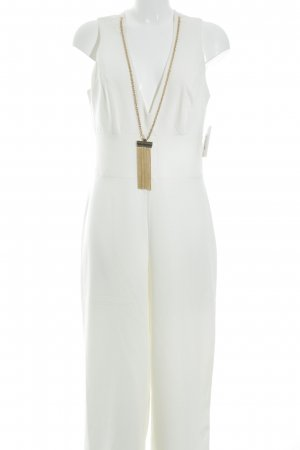 Miss Selfridge Jumpsuit wollweiß Elegant