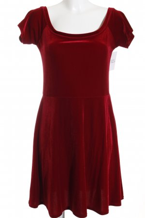 Miss Selfridge Kurzarmkleid rot Casual-Look