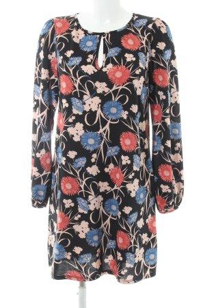 Miss Selfridge Langarmkleid florales Muster Casual-Look