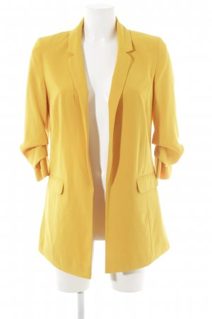 Miss Selfridge Long-Blazer goldorange