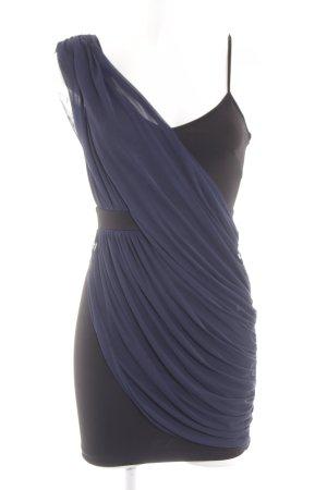 Miss Selfridge Minikleid schwarz-blau extravaganter Stil