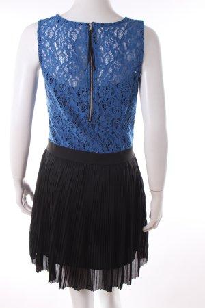 Miss Selfridge Minikleid blau-schwarz