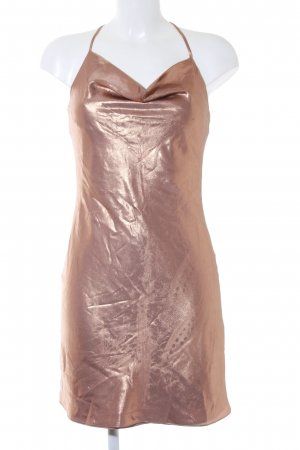 Miss Selfridge Minikleid bronzefarben Party-Look