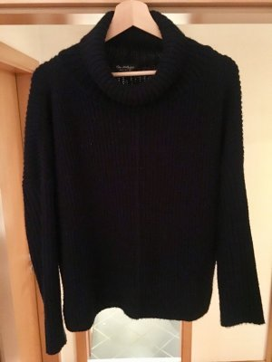 Miss Selfridge Navy Turtleneck Sweater