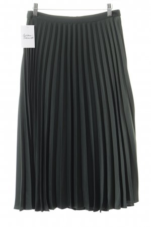 Miss Selfridge Plisseerock dunkelgrün minimalistischer Stil