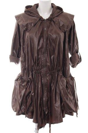 Miss Selfridge Regenjacke bronzefarben extravaganter Stil