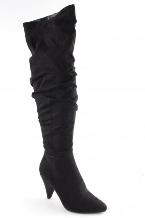 Miss Selfridge Reißverschluss-Stiefeletten schwarz Elegant