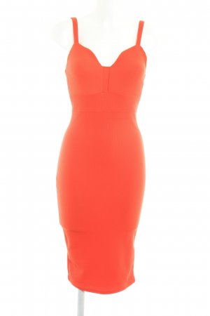 Miss Selfridge Tube Dress dark orange elegant