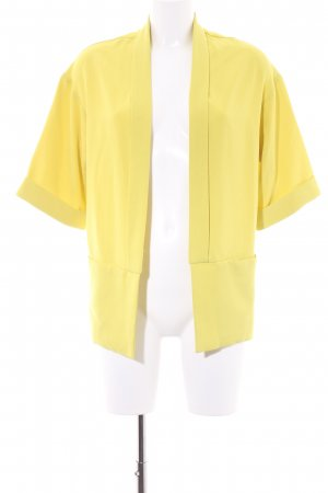 Miss Selfridge Shirt Jacket lime yellow retro look