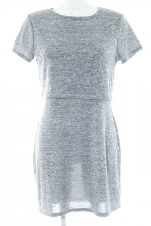 Miss Selfridge Shirtkleid grau meliert Casual-Look