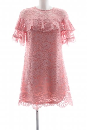 Miss Selfridge Spitzenkleid rosa Elegant