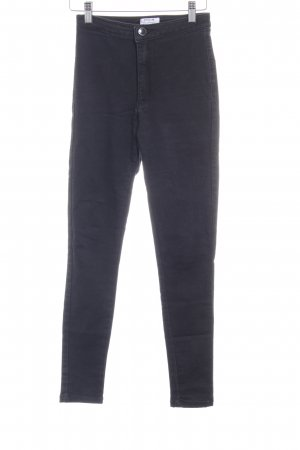 Miss Selfridge Stretch Jeans schwarz sportlicher Stil