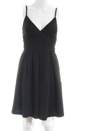 Miss Selfridge Trägerkleid schwarz Elegant