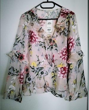 Miss Selfridge Transparente Bluse 38