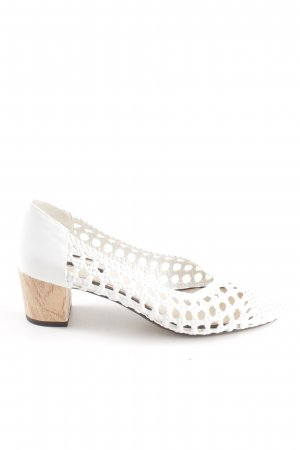 Miss Selfridge Loafers wit casual uitstraling