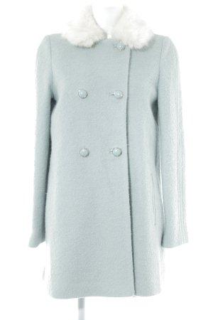 Miss Selfridge Wolljacke graugrün Elegant