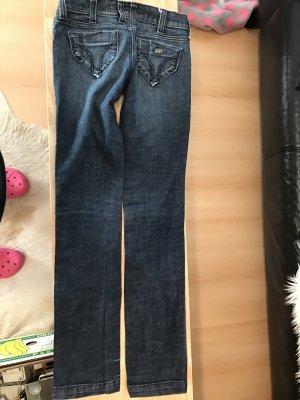 Miss Sixti Jeans mit Pailletten an den Taschen, gr. 26
