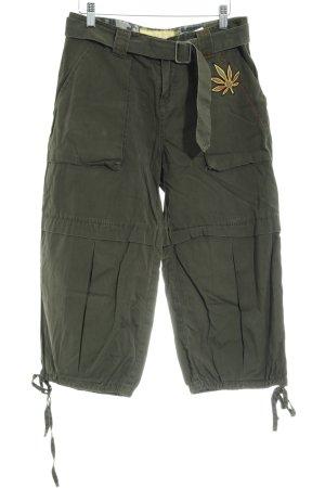 Miss Sixty 3/4 Length Trousers khaki military look