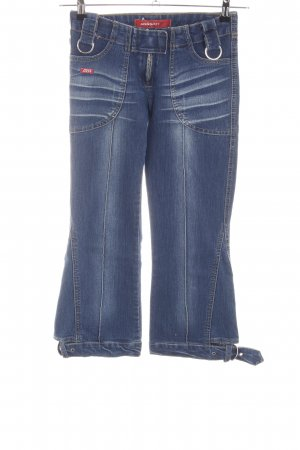 Miss Sixty 3/4 Jeans blau Casual-Look