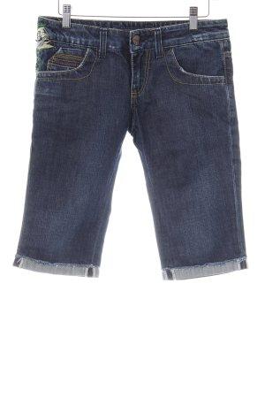 Miss Sixty 3/4 Jeans dunkelblau Casual-Look
