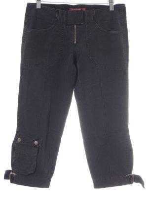 Miss Sixty Jeans 3/4 noir-gris anthracite style décontracté