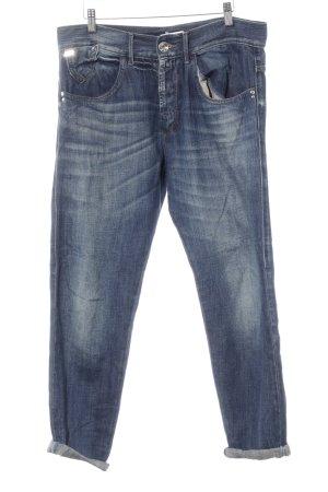 Miss Sixty 3/4 Jeans stahlblau-blassblau Casual-Look