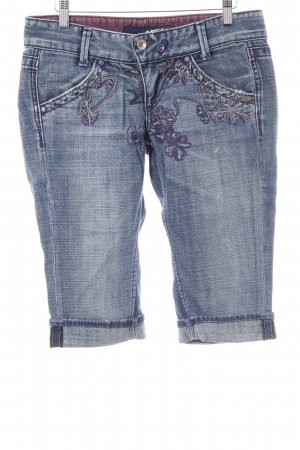 Miss Sixty 3/4 Jeans stahlblau Casual-Look