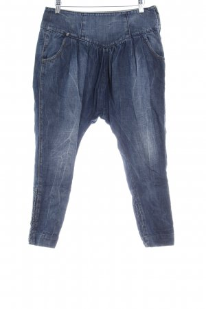 Miss Sixty Jeans a 7/8 blu acciaio look pulito