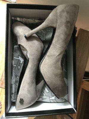 Miss Sixty Adrien Damen High Heels Wildleder Farbe Taupe Gr.40 Neu